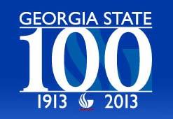 GSU Centennial Logo
