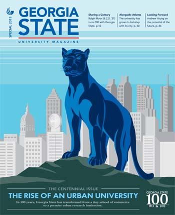 Georgia State Centennial Magazine Cover