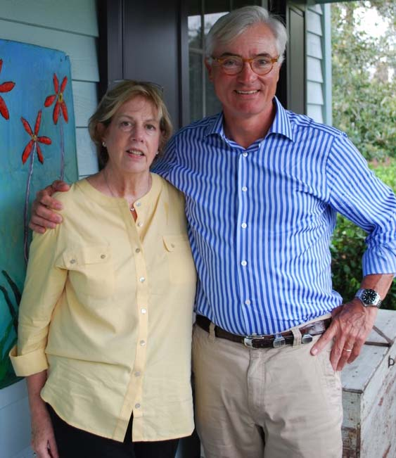 Suzan and Stephen Zoukis